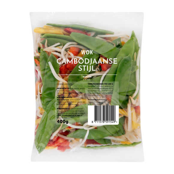 Fresh & Easy Wok groenten Cambodjaans product photo