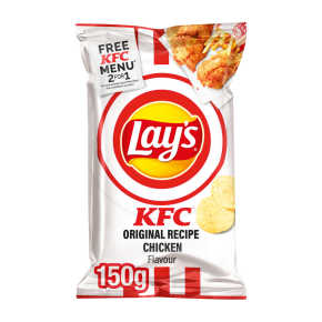 Lay's KFC original chips product photo