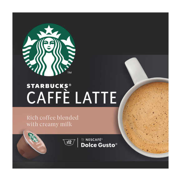 Starbucks Dolce Gusto Cafe latte product photo