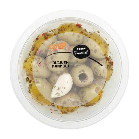 Tapas olijven mammoet product photo
