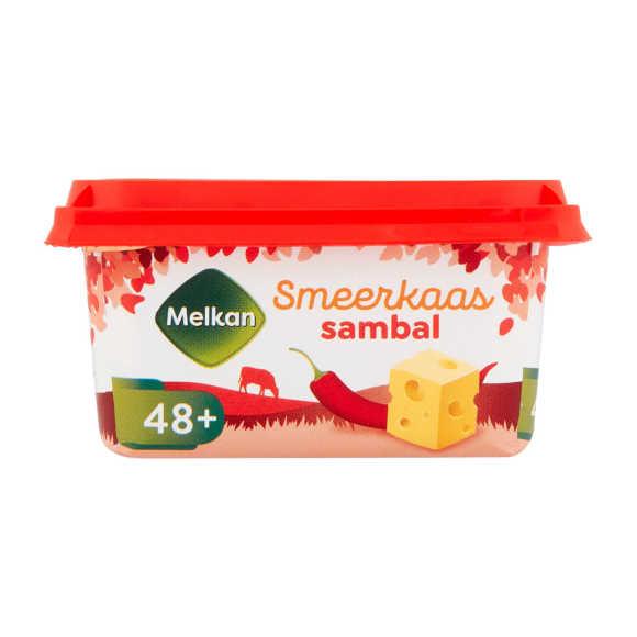 Melkan Smeerkaas 48+ sambal product photo