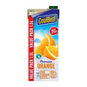 Coolbest Premium orange sap product photo