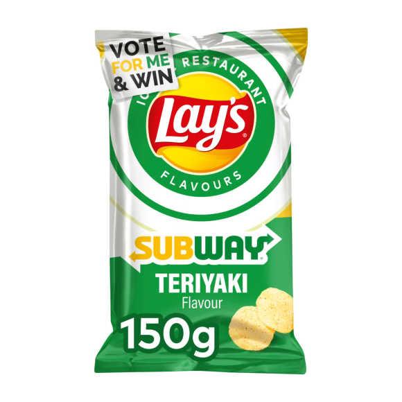Lay's Subway teriyaki chips product photo
