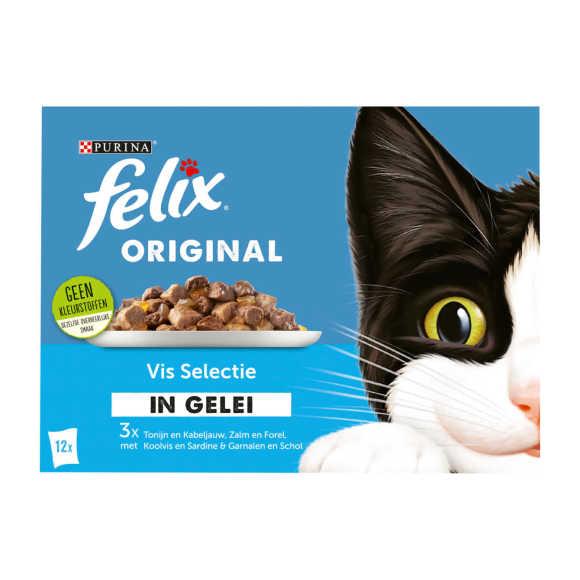 FELIX Original Vis Selectie in Gelei 12x85g product photo
