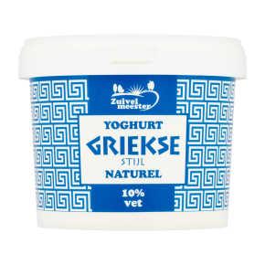 Zuivelmeester Yoghurt Griekse stijl 10% vet product photo