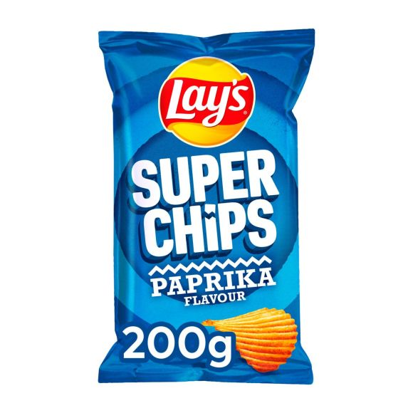 Lay's Superchips paprika product photo