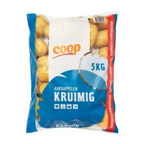 Kruimige aardappelen product photo
