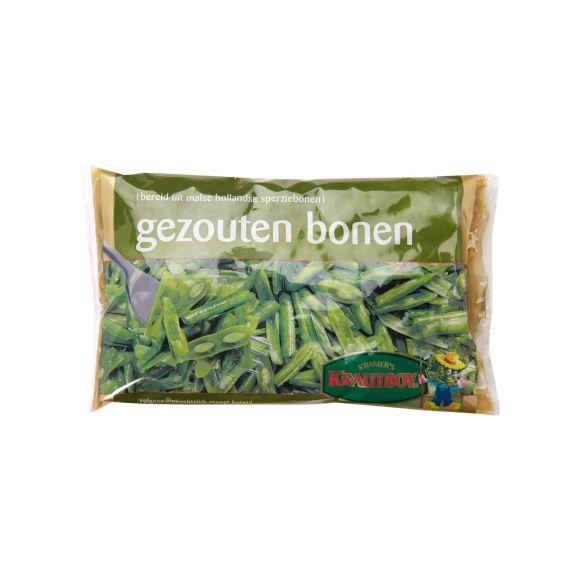 Snijbonen gezouten product photo