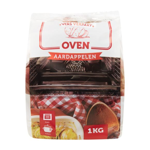 Culinaire oven aardappelen product photo
