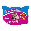 Whiskas Temptations - Zalm - Kattensnack - 60 g product photo