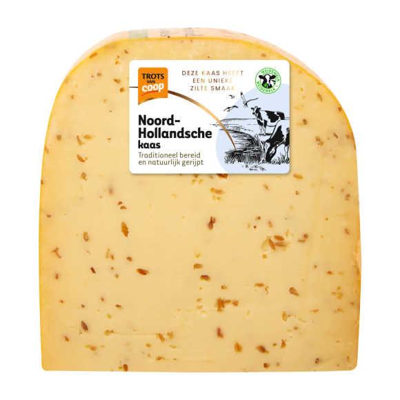 Trots van Coop Noord-Hollandsche jong komijn 48+ kaas stuk product photo