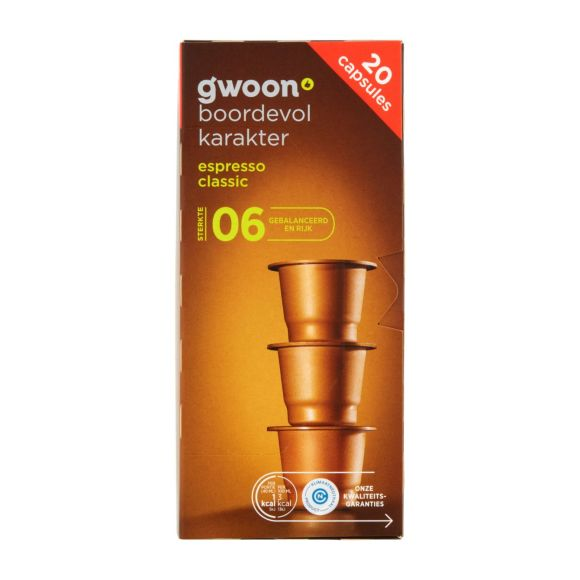 g'woon Cups espresso classic product photo