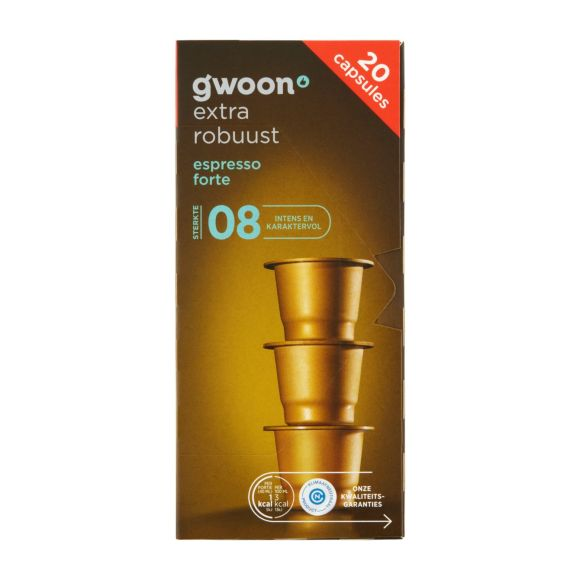 g'woon Cups espresso forte product photo