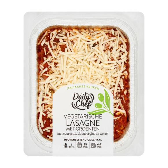 Daily Chef Lasagne met groente product photo