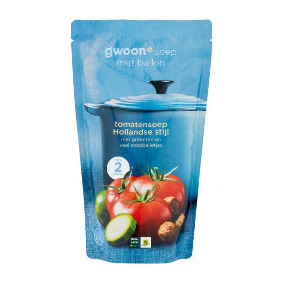 g'woon Hollandse tomatensoep product photo