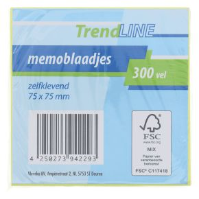 Trendline Memoblaadjes geel product photo
