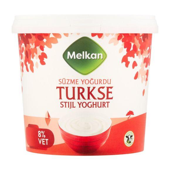 Melkan Yoghurt turkse Stijl 8% vet product photo