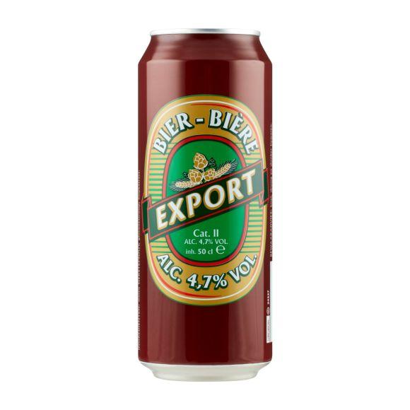 Export Pils blik product photo
