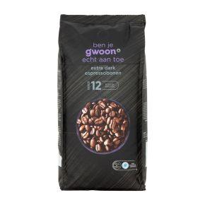 g'woon Espressobonen extra dark product photo