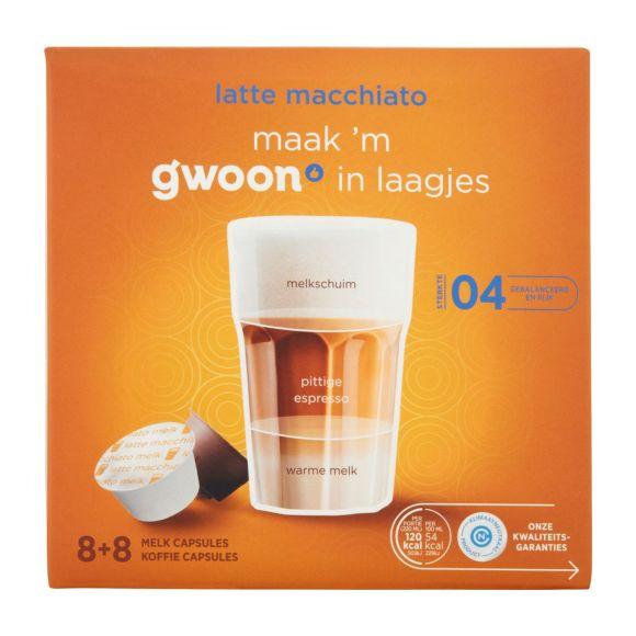 g'woon Dg cups latte macchiato product photo
