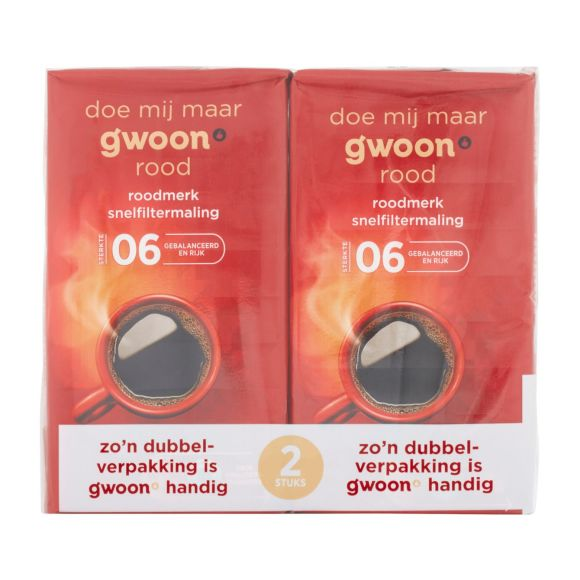 g'woon Rood filter duopak product photo