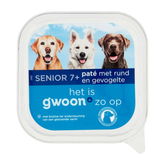 g'woon Pate rund gevogelte hond product photo