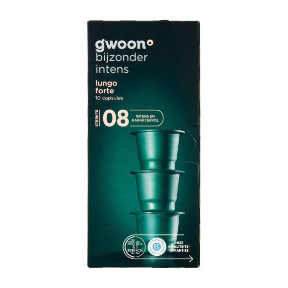 g'woon Cups lungo forte product photo