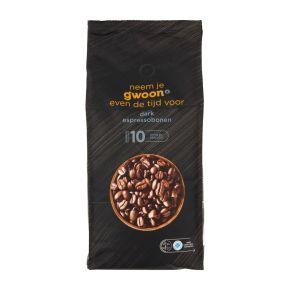 g'woon Espressobonen dark product photo