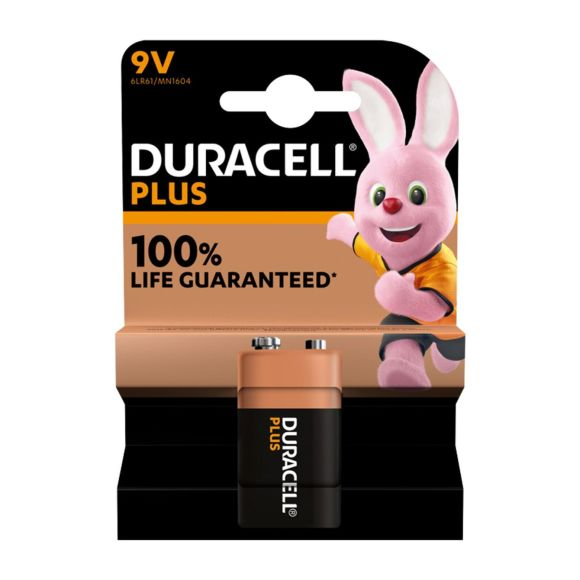 Duracel Alkaline Plus 9V X1 product photo