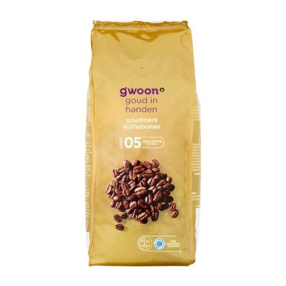 g'woon Koffiebonen goud product photo
