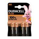 Duracel Alkaline Plus AA X4 product photo