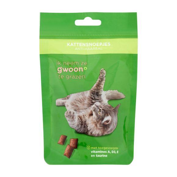 g'woon Kattensnack anti-haarbal product photo