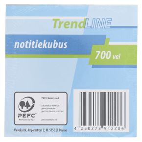 Trendline Notitiekubus product photo