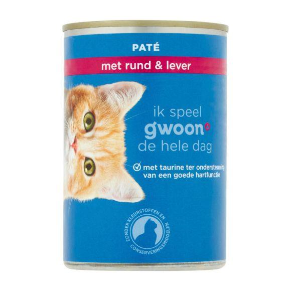 g'woon Paté adult kalf/lever kat product photo