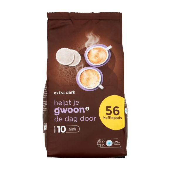 g'woon Koffiepads extra dark product photo