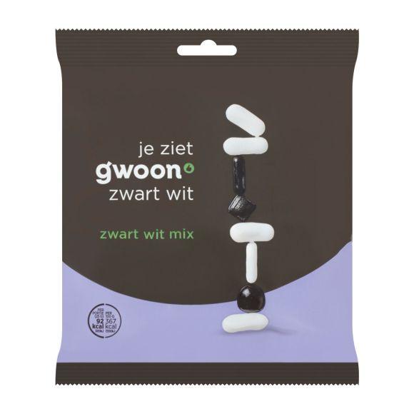 g'woon Drop zwart wit mix product photo