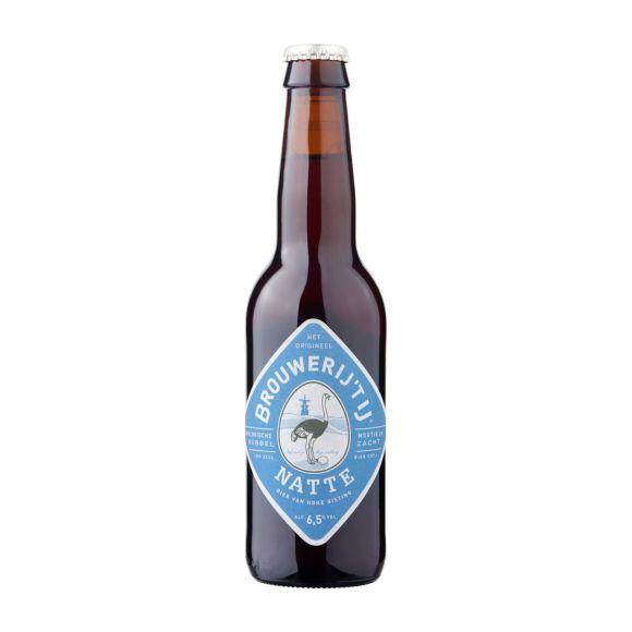 Brouwerij 't IJ Natte bio bier flesje product photo