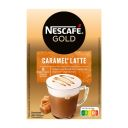 Nescafé Caramel latte product photo