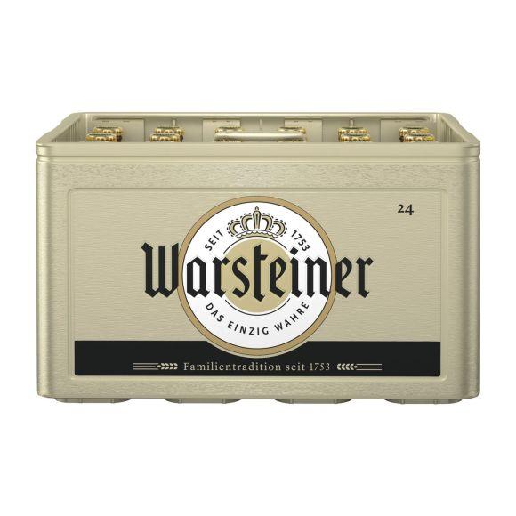 Warsteiner Pils krat 24 x 30 cl product photo