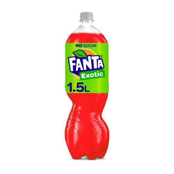 Fanta Zero sugar exotic product photo