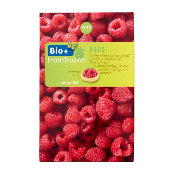 Bio+ Frambozen 2 x 150 gram product photo