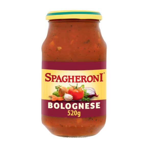 Spagheroni Bolognese pastasaus product photo