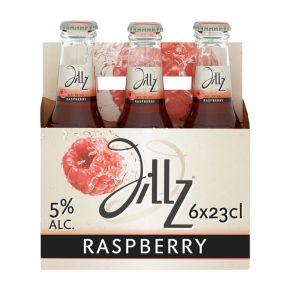 Jillz Raspberry cider fles 6 x 23 cl product photo