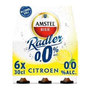 Amstel Radler 0.0 bier citroen fles 6x30cl product photo