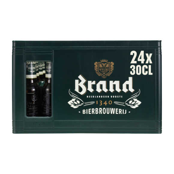 Brand Pilsener bier fles 24x30cl krat product photo