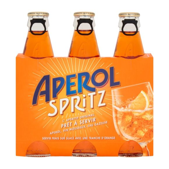 Aperol Spritz fles 3 x 17,5 cl product photo
