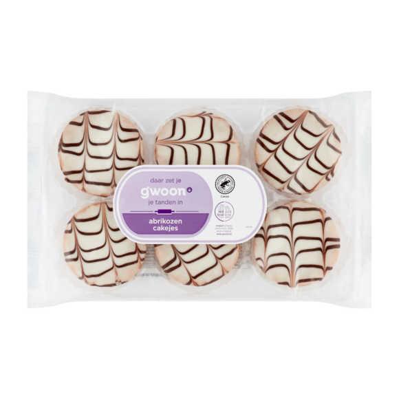 g'woon Abrikozen cakejes product photo