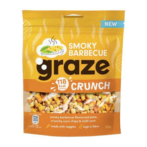 Graze Crunchy smokey BBQ product photo