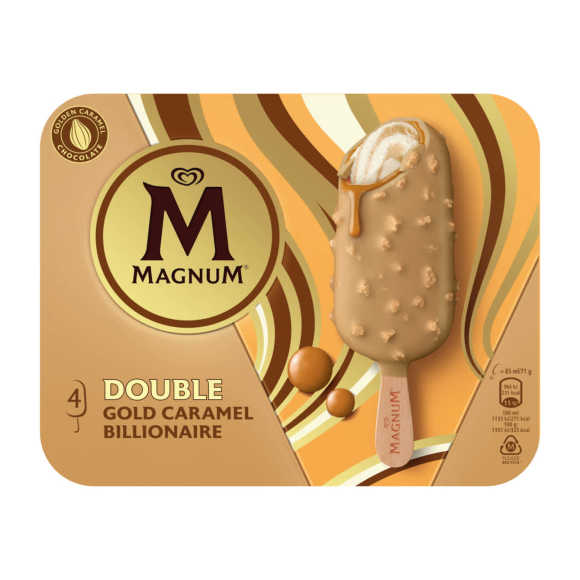 Magnum Double gold chocolate product photo