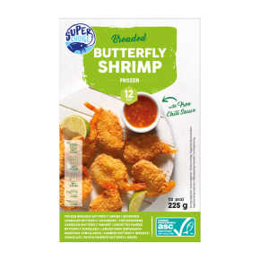 Super choice Butterfly shrimps ASC product photo